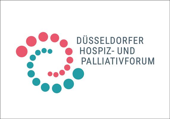 Logo für ein Forum, zu dem sich der 'Düsseldorfer Hospizverein' mit dem 'Runder Tisch Palliative Versorgung' zusammengeschlossen haben