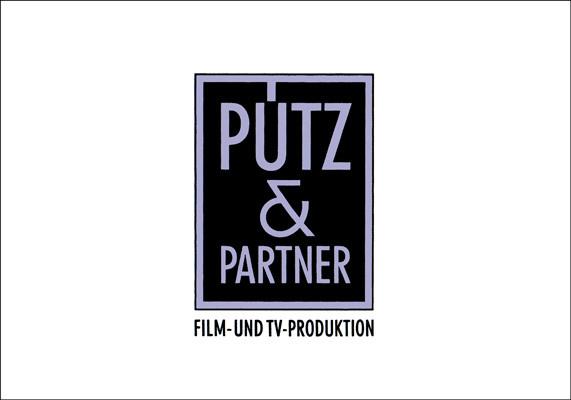 Logo für die Film- und TV-Produktionsfirma Pütz und Partner, Düsseldorf
