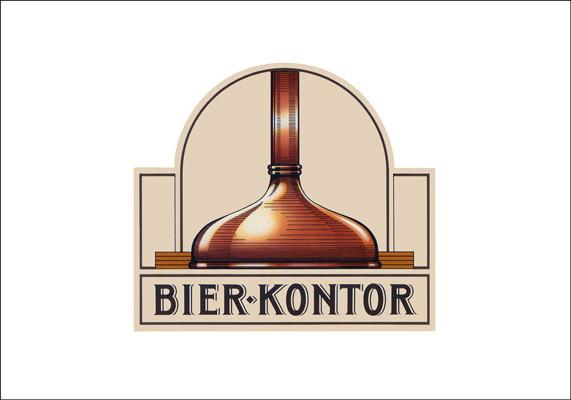 Logo für eine Gaststätte der Kloster-Brauerei, Hamm