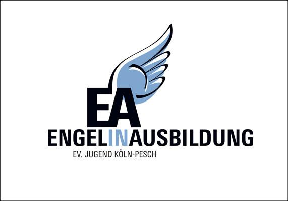 Wort-Bildmarke für die Jugendgruppe der Ev. Kirchengemeinde Köln-Pesch