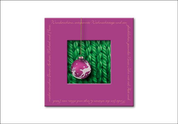 Private Weihnachtskarte
