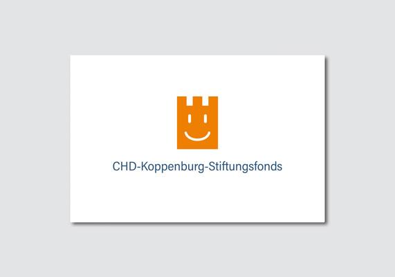 Visitenkarte des CHD-Koppenburg-Stiftungsfonds, der 2017 unter dem Dach der Bürgerstiftung Gerricus gegründet wurde | ©Andrea Osche – www.a-osche.de