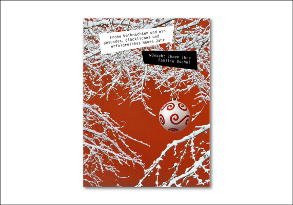 Private Weihnachtskarte | ©Andrea Osche – www.a-osche.de