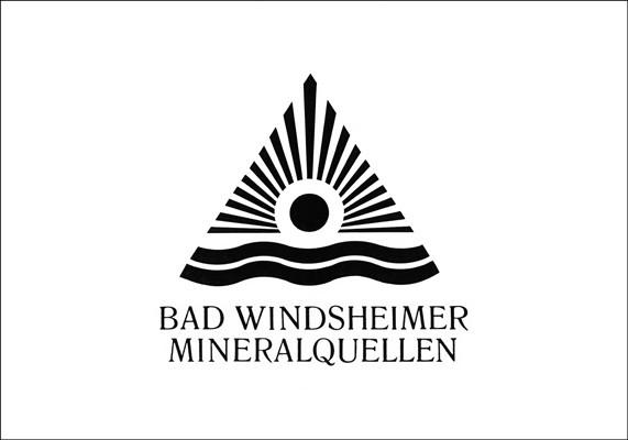 Wort-Bildmarke für ein Mineralwasser der Bad Windsheimer Heil- und Mineralquellen GmbH
