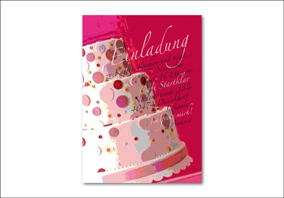 Private Geburtstagseinladung