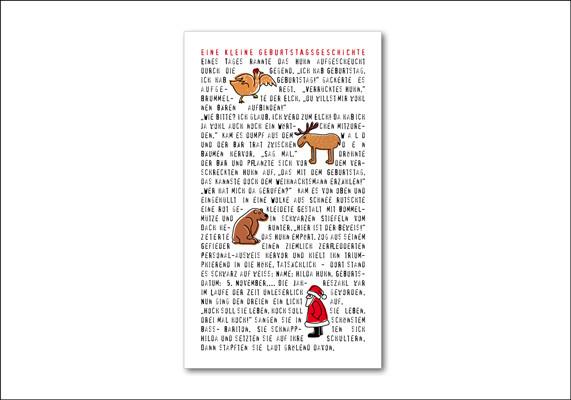Kurzgeschichte als Geburtstagsgeschenk | ©Andrea Osche – www.a-osche.de