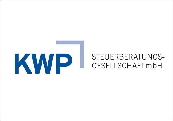 Logo für die KWP Steuerberatungsgesellschaft mbH, Düsseldorf   Redesign