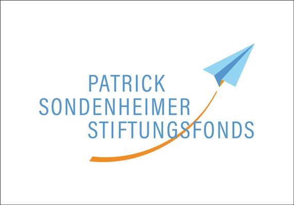 Logo für einen Stiftungsfonds, der von der Witwe des Piloten Patrick Sondenheimer gegründet wurde und trauernde Kinder und Jugendliche unterstützt