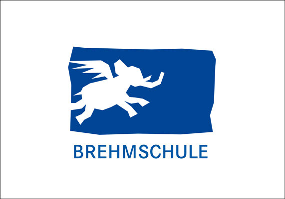 Logo für eine Grundschule in Düsseldorf, deren Leitsymbol ein Elefant ist | Entwurf