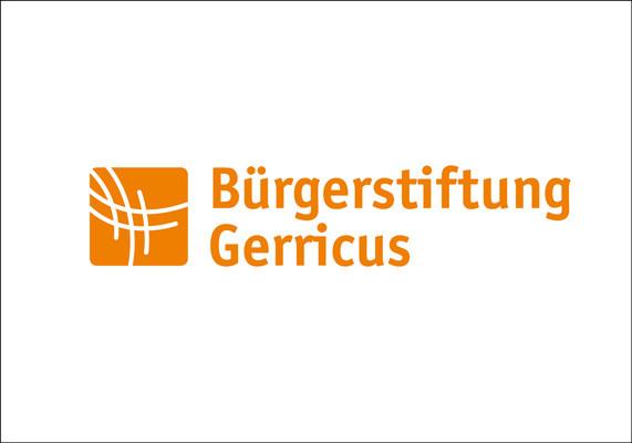 Wort-Bild-Marke für die Bürgerstiftung Gerricus, Düsseldorf | Redesign