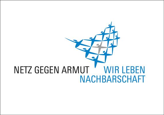 Logo für das Netz gegen Armut, das im Düsseldorfer Stadtbezirk 7 Arme und sozial Benachteiligte unterstützt