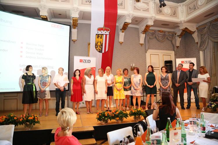 Zertifikatsverleihung Z.E.OÖ - zertifizierte Energetiker OÖ beim Sommerfest der Energetikerinnen OÖ in den Redoutensäle Linz Foto: ©RAHMANOVIC Jasmina /cityfoto