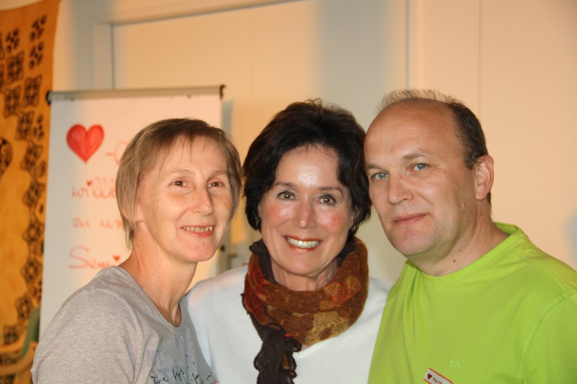 Seminar Harmonie und innerer Frieden mit Gila van Delden in Schlierbach April 2014