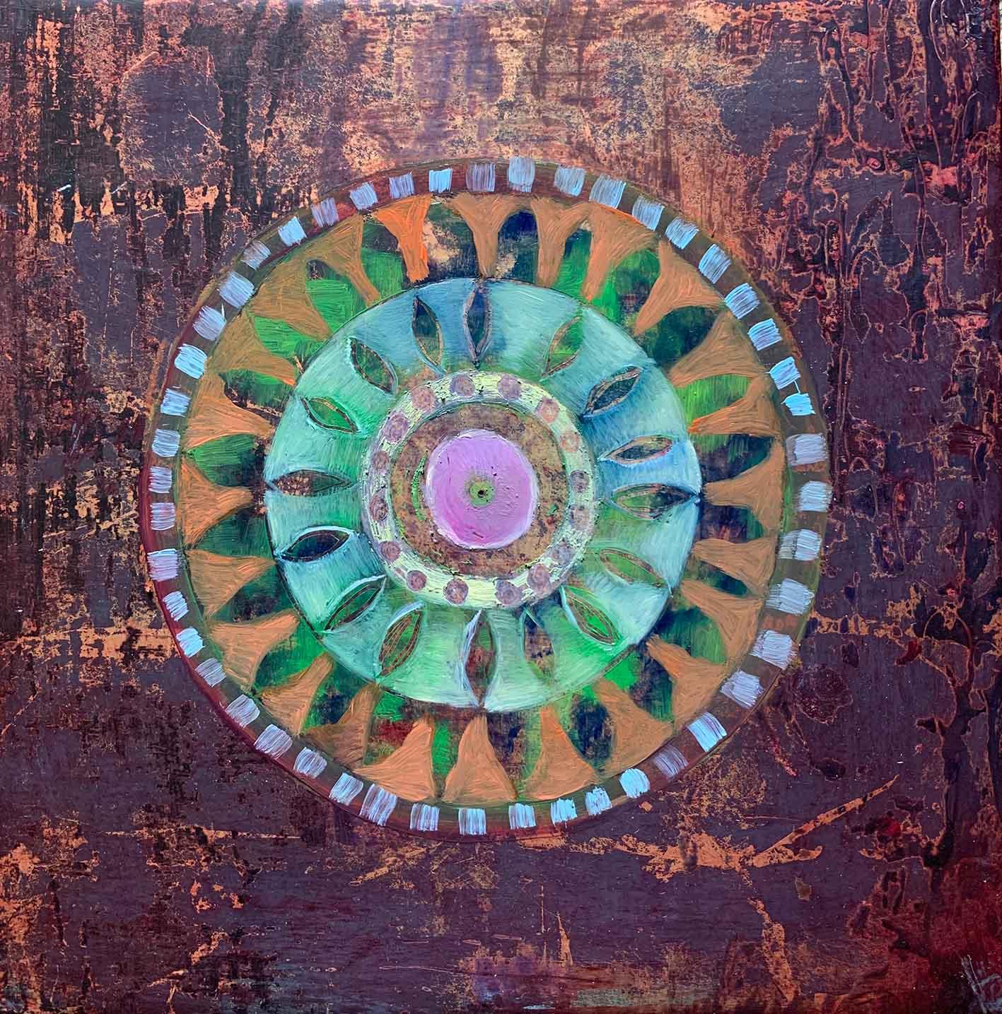 Mandalas malen und die innere Mitte finden
