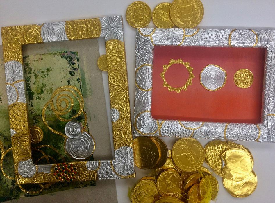 Upcycling - goldige Rahmen!