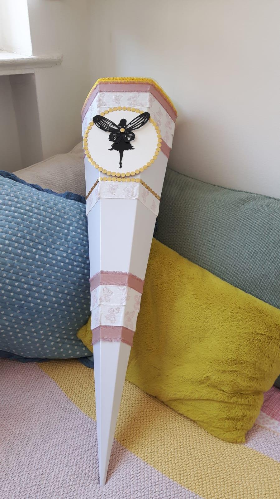 Individuelle Schultüte für Mädchen-Schmetterling