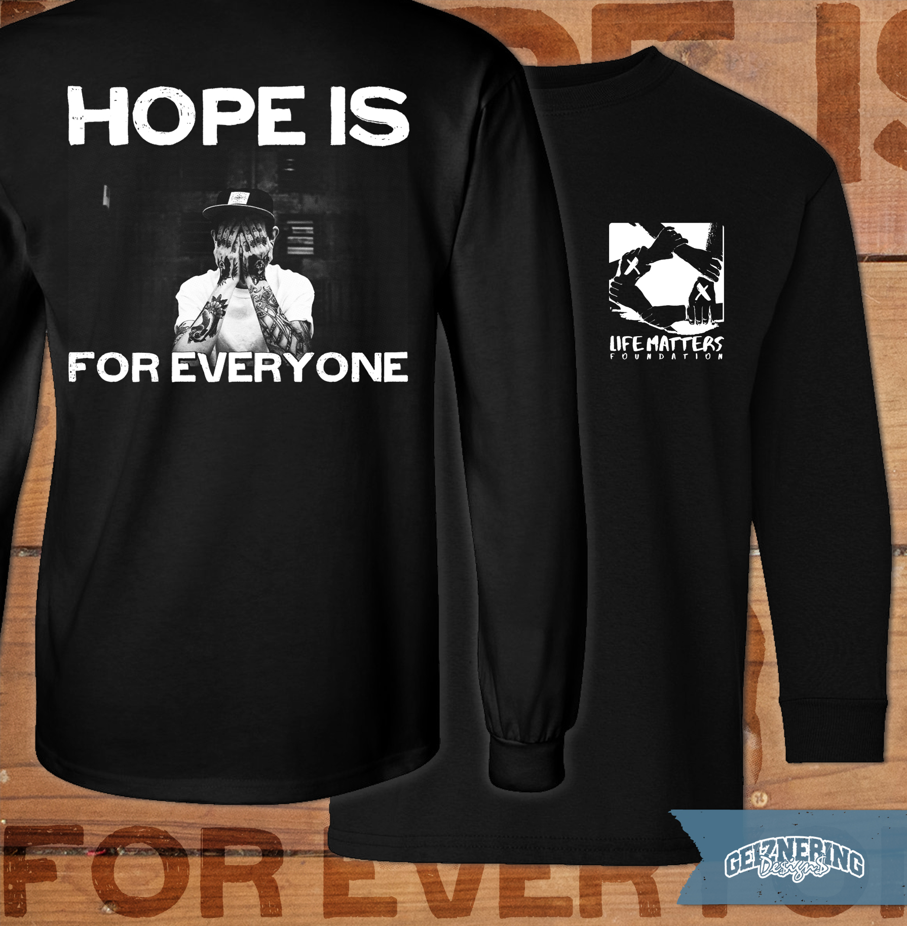 Longsleeve-Design - Life Matters Foundation