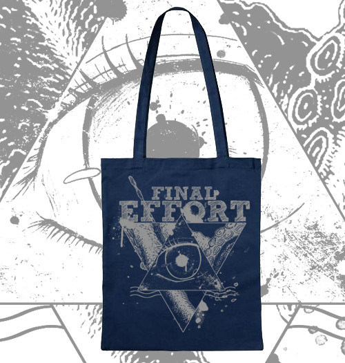 Tote Bag-Design for FINAL EFFORT (Band)