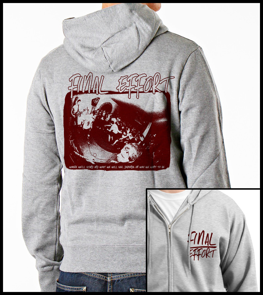 Hoodie-Design for FINAL EFFORT (Band)