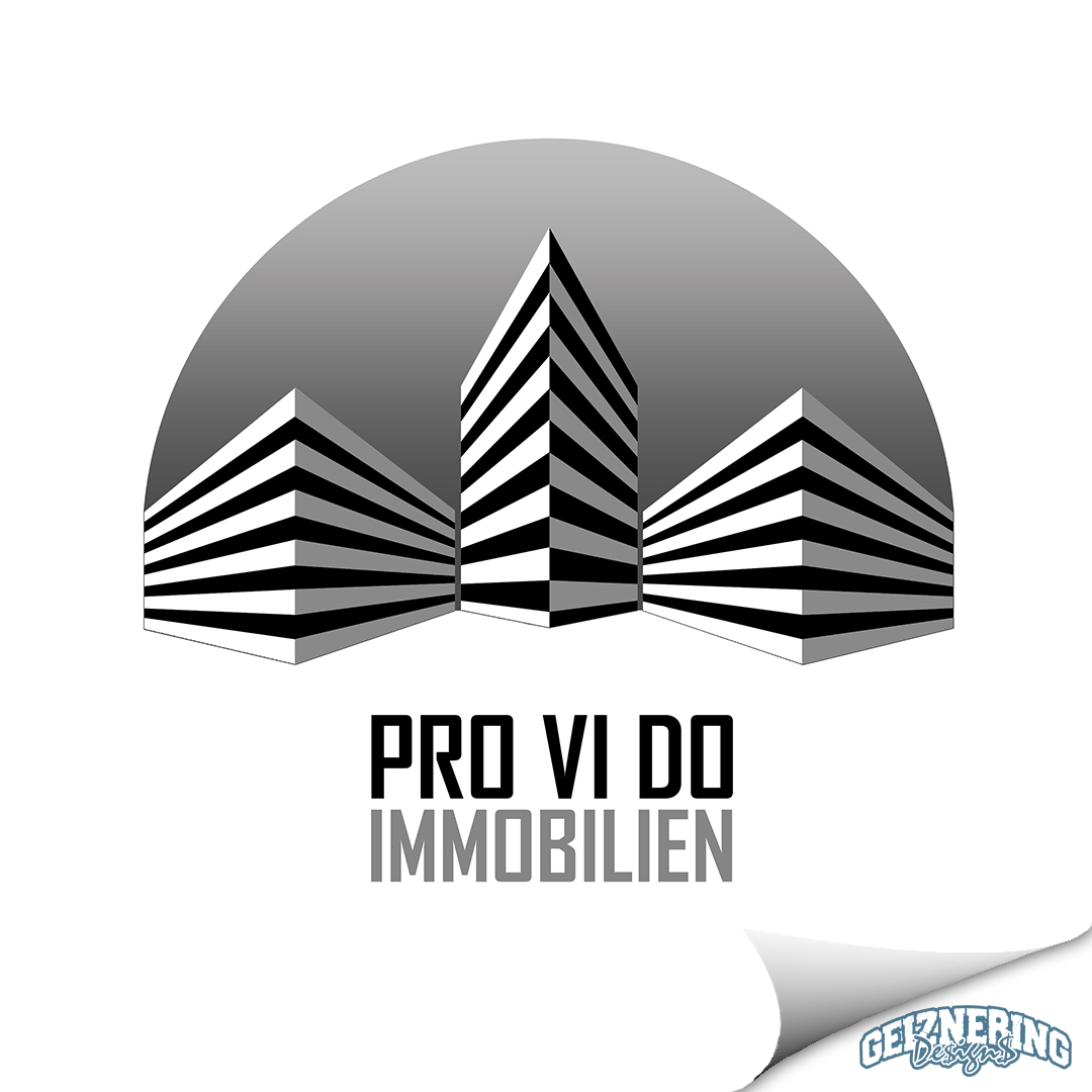 Logodesign - Pro Vi Do Immobilien