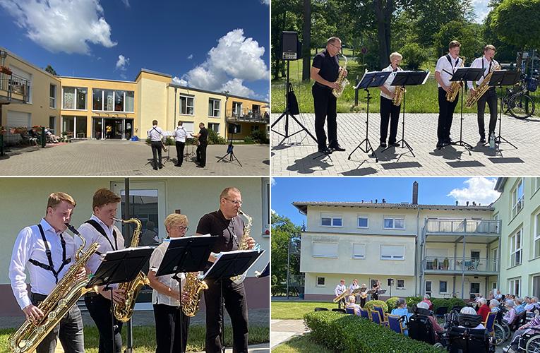 2 weitere Konzerte in Seniorenheimen am 25. und 26. Juni