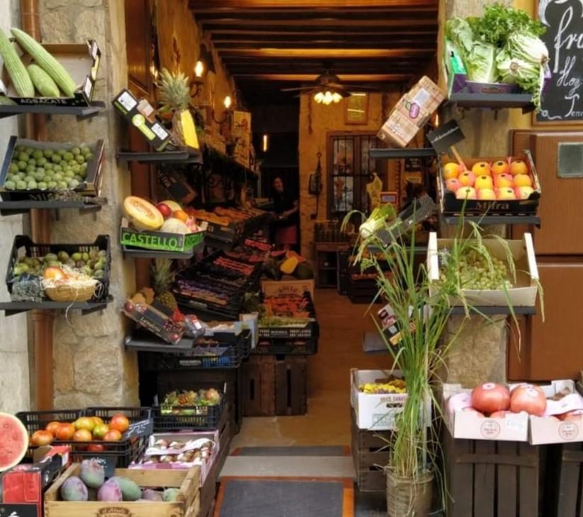 <b>La Frutería</b><br>Frutas y Verduras