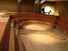 Frigidarium de la termas romanas de Cesaraugusta