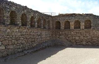 Apodyterium de las termas de Segobriga