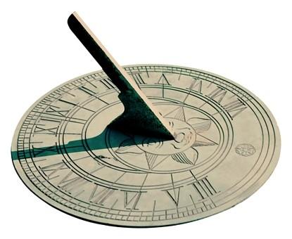 Reloj de sol romano (mucho más avanzado, con muchos detalles)