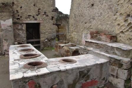 Tabernae de la ciudad de Pompeya