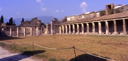 Palestra de las termas de Estabias, Pompeya