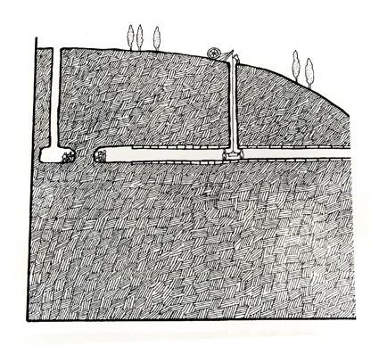 Acueducto subterraneo.