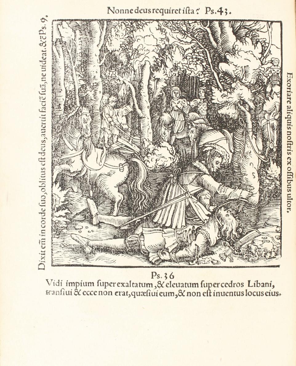 Ulrich de Wurtemberg aurait planté son épée en terre et suspendu l'écuyer par le cou au pommeau de celle-ci après l'avoir tué (Ulrich Von HUTTEN, Die Schule der Tyrannen, Martin  Treu,  Darmstadt,  1997,  p.  319).