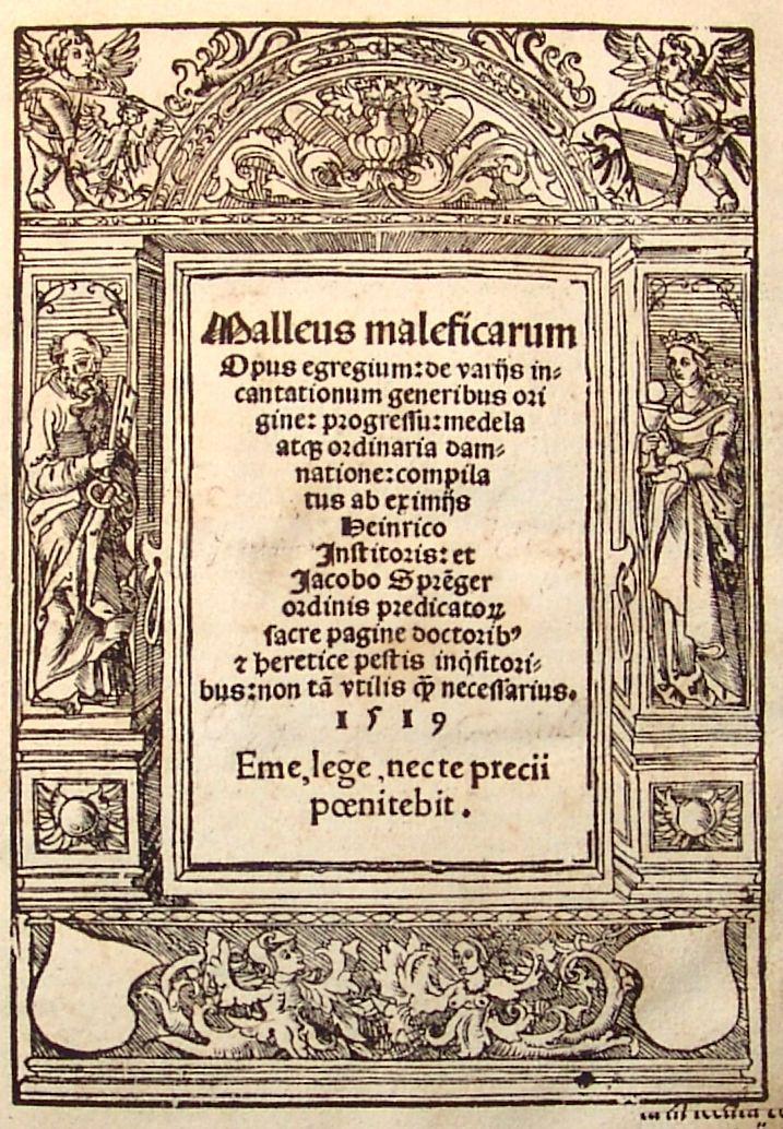 le Malleus maleficarum ou le Marteau des sorcières