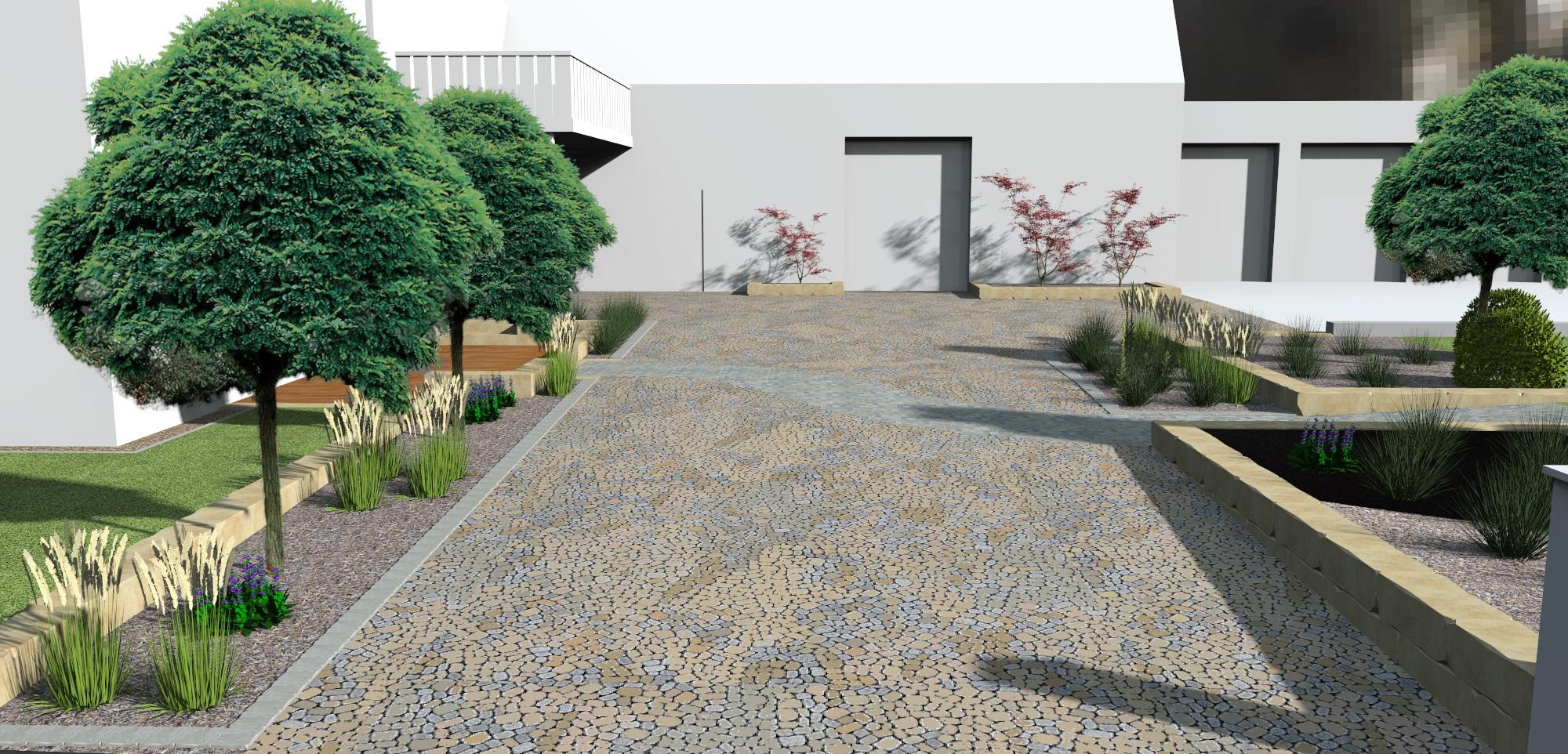 Wir Planen Ihren Garten Mit Hilfe Von 3D  Modellen, Die Wir Auf Grundlage  Unserer Vermessungen Erstellen.