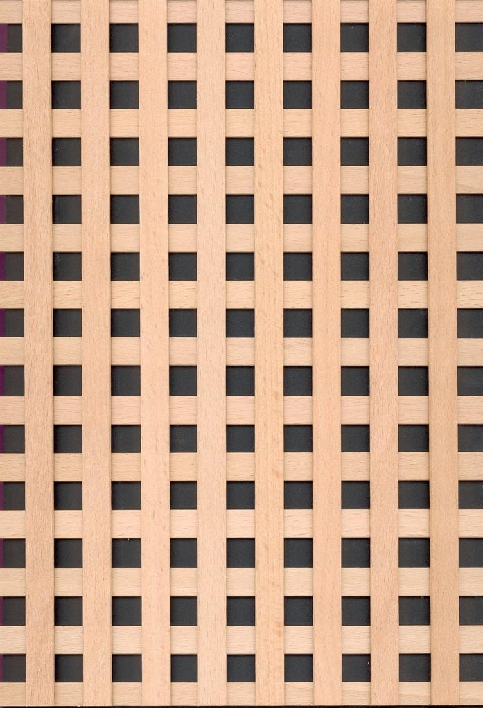 Holzgitter Venedig 12-12 90° Buche