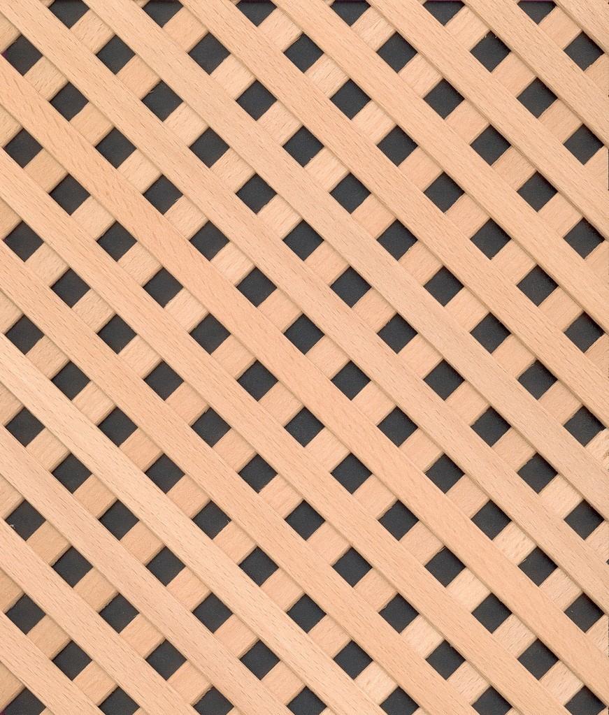 Holzgitter Venedig 12-12 45° Buche