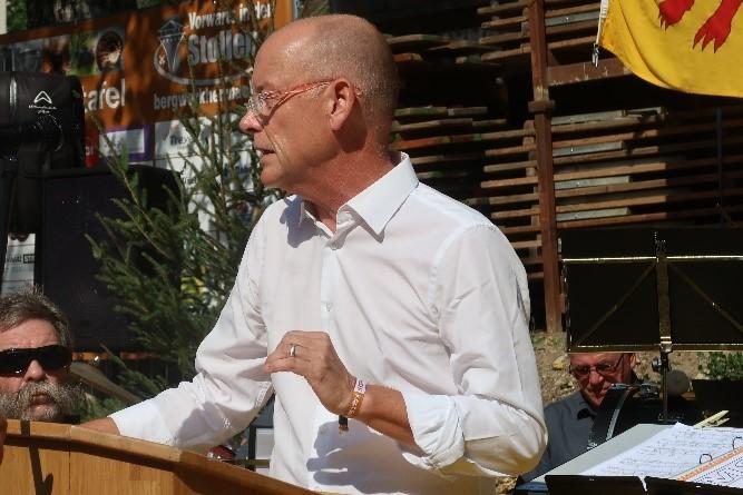 Thomas Pauli-Gabi, Leiter Kultur beim Kanton: «Das Bergwerk ist ein wichtiges und einzigartiges Kulturgut.»
