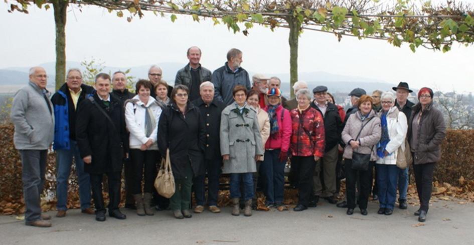 Reisegruppe von Geboltskirchen