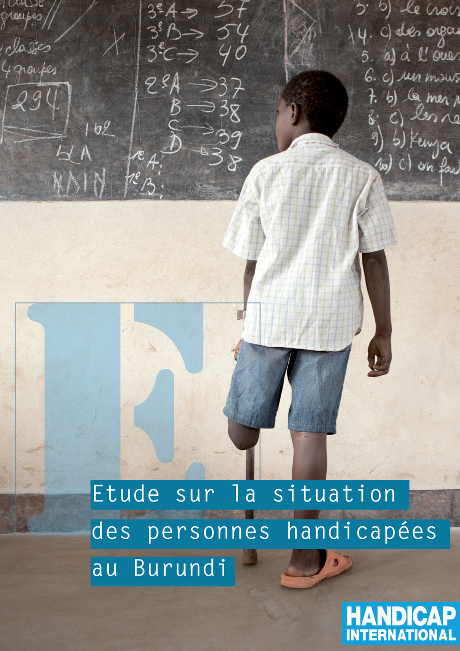 Rapport d'activité d'Handicap International