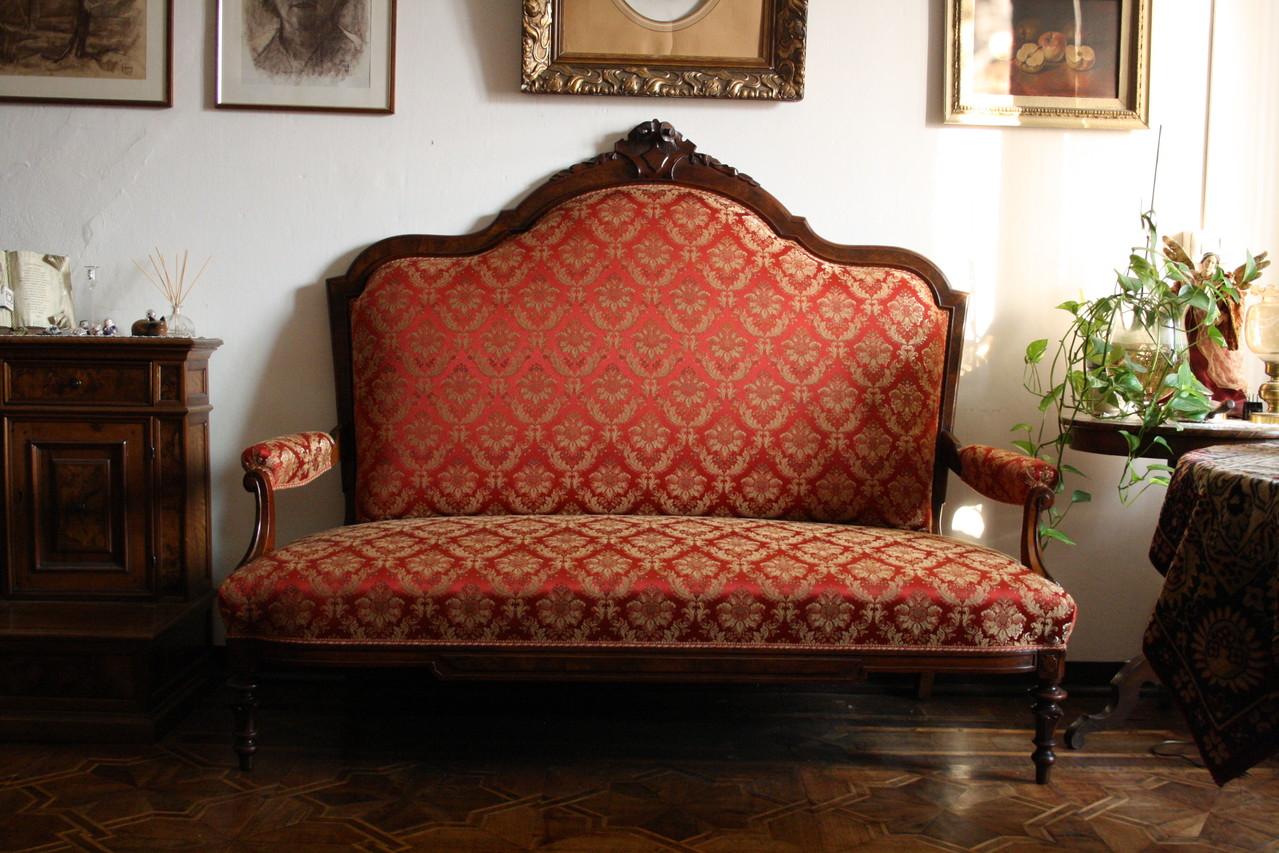 rifacimento divano tradizione a molle