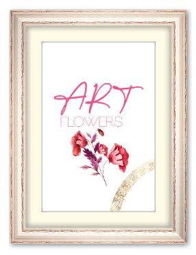2ER SET ART FLOWERS
