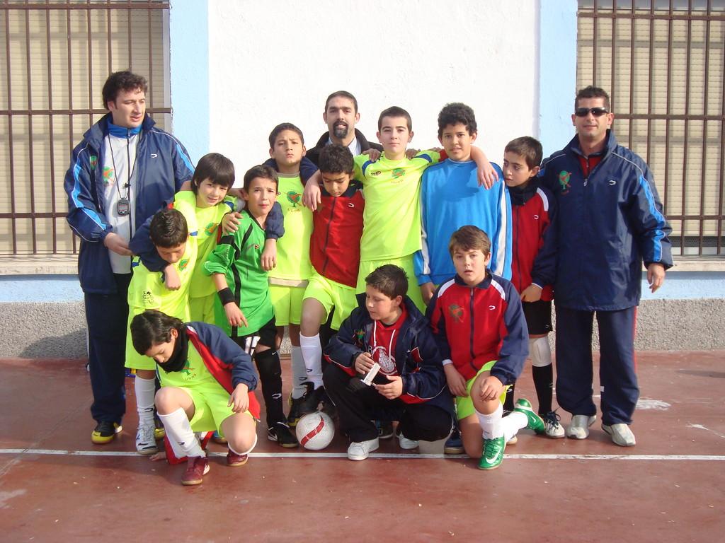 CFS ARTILLEROS ALEVIN COPA