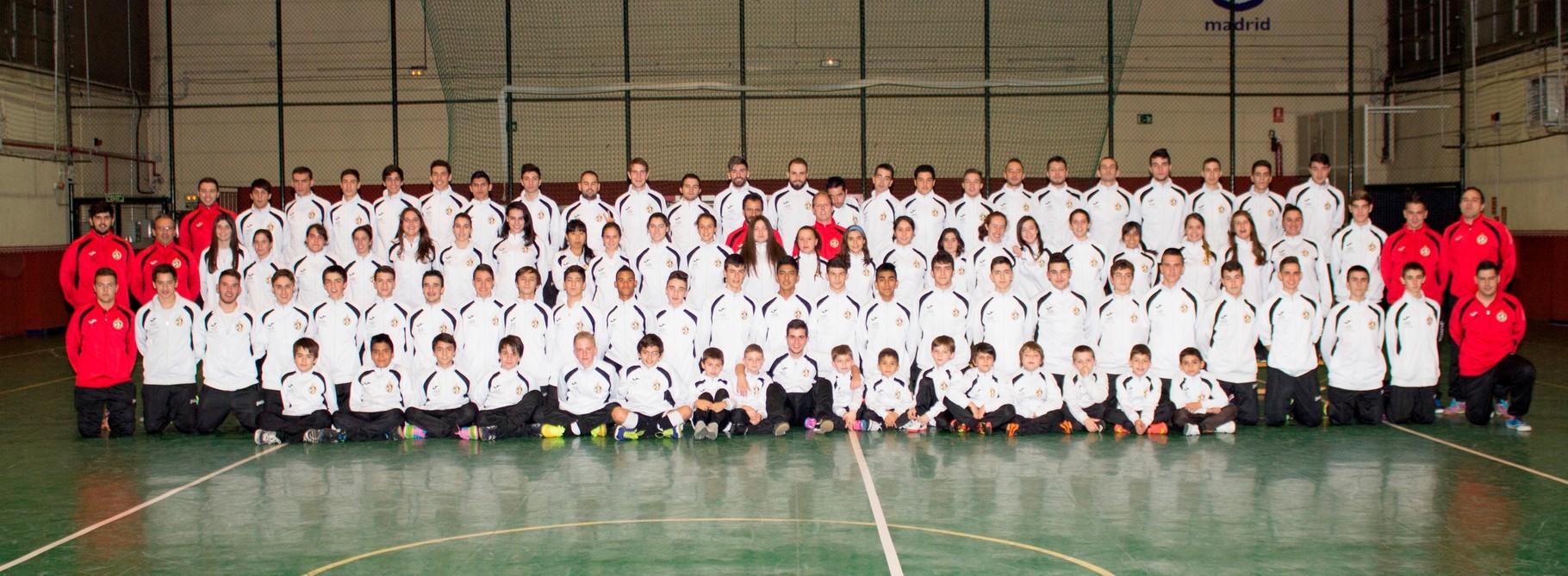 FOTO DE CLUB TEMPORADA 2014-2015