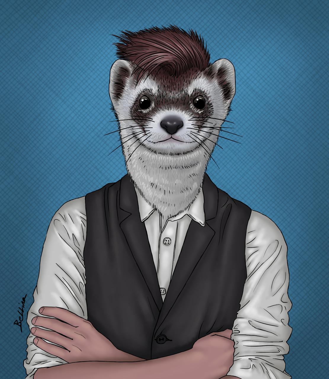 Dessins sur Ordinateur > Weasel