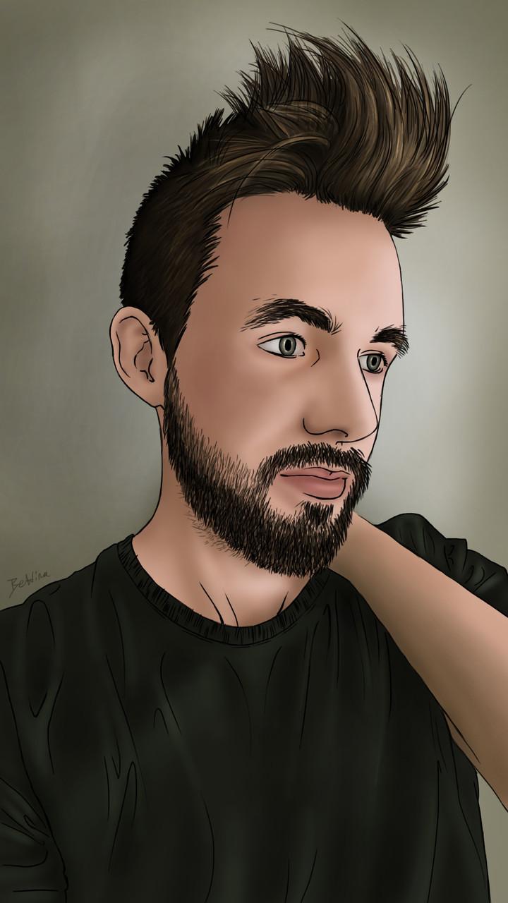 Dessins sur Ordinateur > Portrait de Maxime