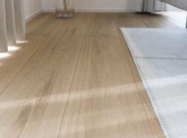 ハコイエ無垢の床の画像