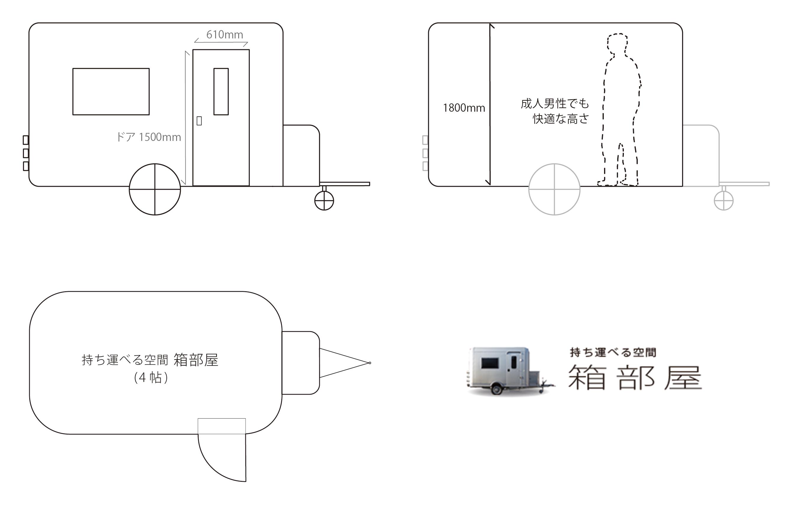 箱部屋の詳細の画像