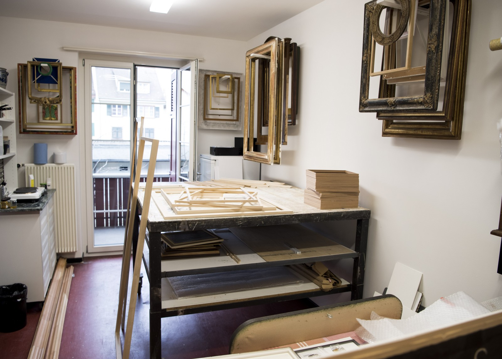 Großzügig Herstellung Von Holzrahmen Für Bilder Fotos ...