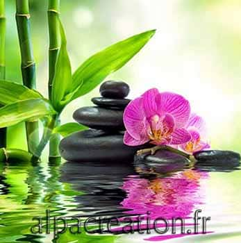 Zen reflets